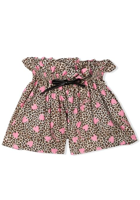HIGH WAIST SHORTS MISS BLUMARINE KIDS | Short | MBL3714VV