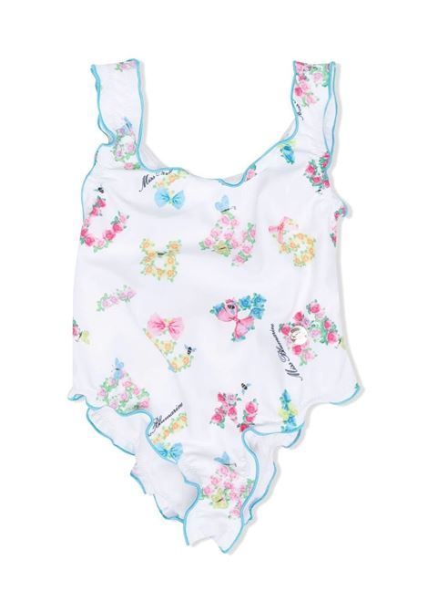 ONE PIECE SWIMSUIT WITH PRINT MISS BLUMARINE KIDS | Swimsuits | MBL396101