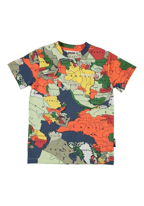 T-SHIRT CON STAMPA MOLO KIDS | T-shirt | 1S21A2066232