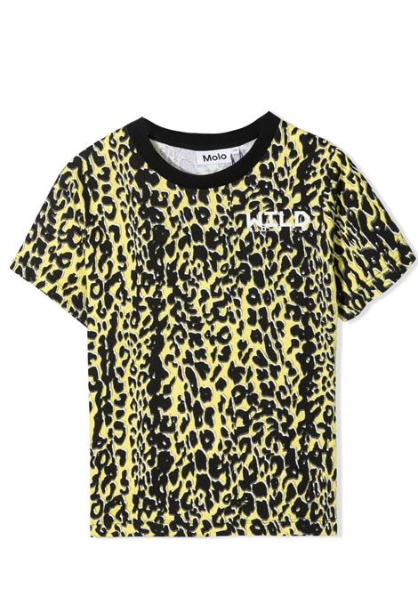 Unisex t-shirt with leopard print MOLO KIDS | T-shirt | 1S21A2086245