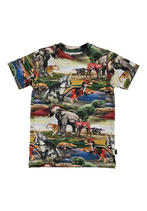 T-SHIRT CON STAMPA MOLO KIDS | T-shirt | 1S21A2256236