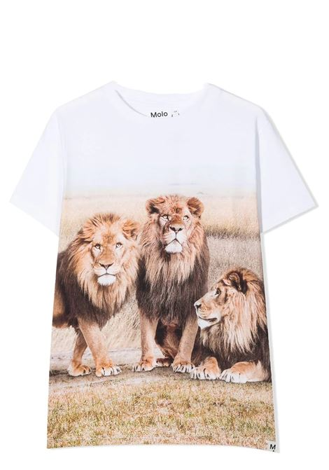 Unisex T-shirt with print MOLO KIDS | T-shirt | 1S21A228T7428