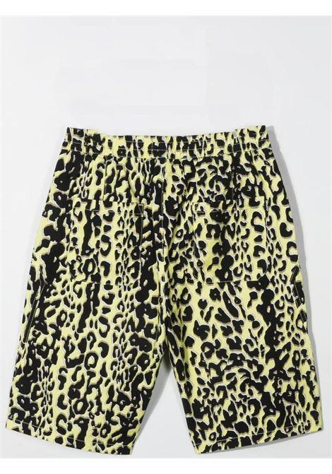 Unisex bermuda with leopard print MOLO KIDS | 1S21H122T6245