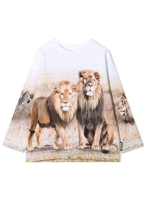 Unisex sweatshirt with print MOLO KIDS | Sweatshirts | 1S21J222T7429