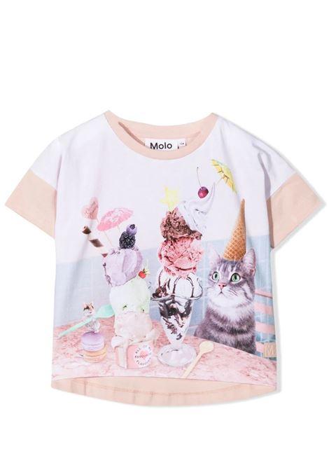 Little girl t-shirt with print MOLO KIDS | T-shirt | 2S21A2257377