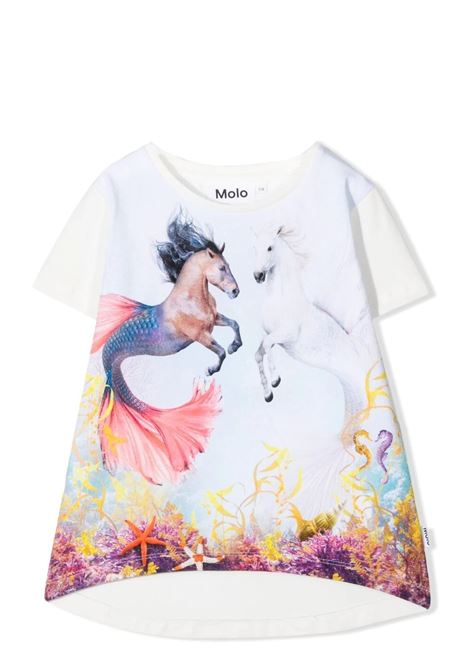 T-shirt bambina con stampa MOLO KIDS | T-shirt | 2S21A2267389