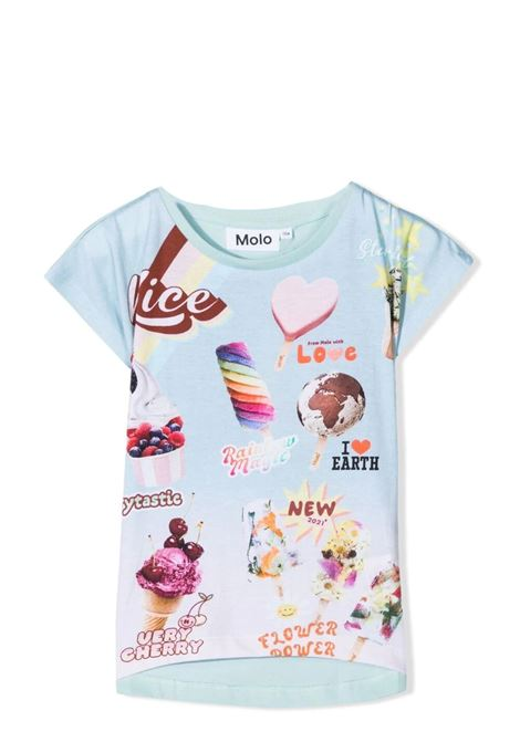 Little girl t-shirt with print MOLO KIDS | 2S21A2447451