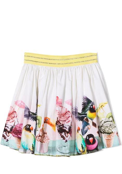 Little girl skirt with print MOLO KIDS | 2S21D1187367