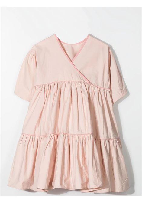 Little girl dress with crossover design MOLO KIDS | 2S21E1158058