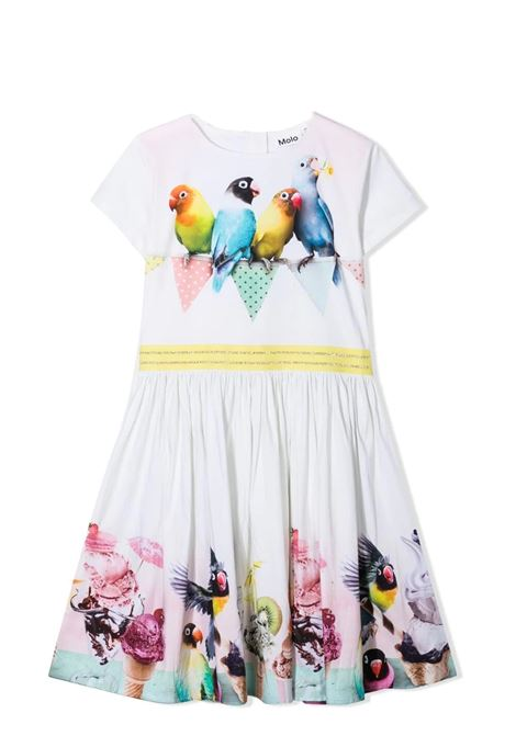 Little girl dress with prints MOLO KIDS | Dress | 2S21E1297367