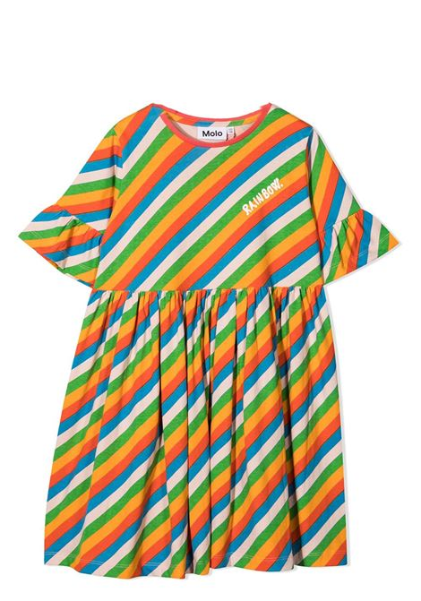 Little girl striped dress MOLO KIDS | Dress | 2S21E1376279