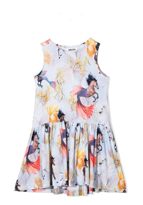 Sleeveless girl dress with print MOLO KIDS | Dress | 2S21E1436276
