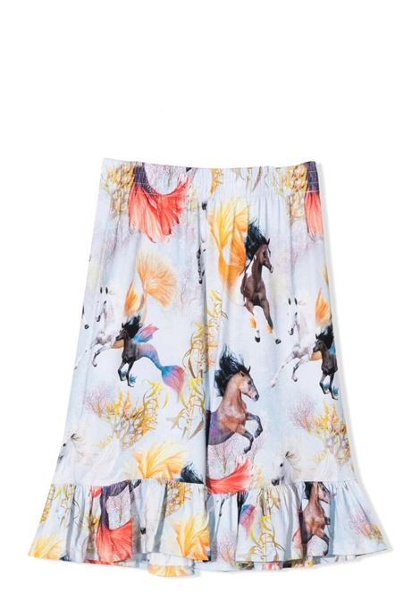 Girl's trousers with print MOLO KIDS | Trousers | 2S21I2156276
