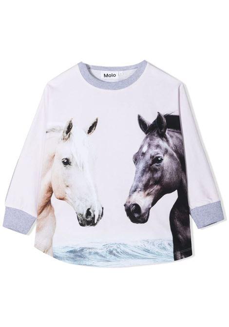 Little girl sweatshirt with print MOLO KIDS | Sweatshirts | 2S21J2217399