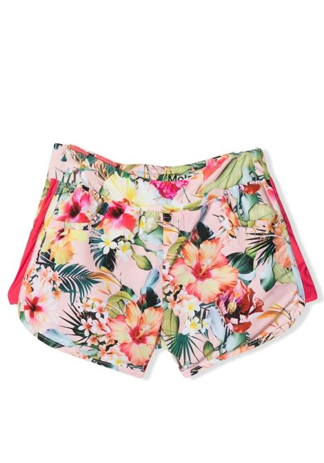 Shorts copricostume bambina a fiori MOLO KIDS | Shorts | 8S21P4016208