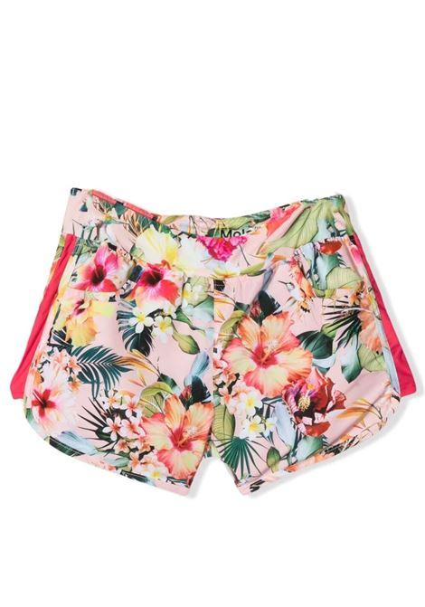 Shorts copricostume bambina a fiori MOLO KIDS | Shorts | 8S21P401T6208