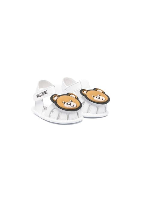 SANDALS WITH APPLICATIONS MOSCHINO KIDS | Sandals | 673331