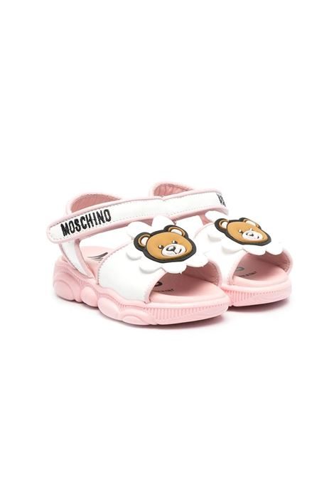 SANDALS WITH APPLICATIONS MOSCHINO KIDS | Sandals | 6735701