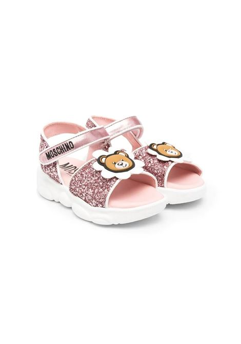 SANDALS WITH APPLICATIONS MOSCHINO KIDS | Sandals | 673571