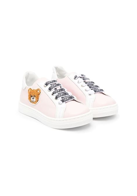 SNEAKERS WITH SIDE BEAR MOSCHINO KIDS | Sneakers | 673892
