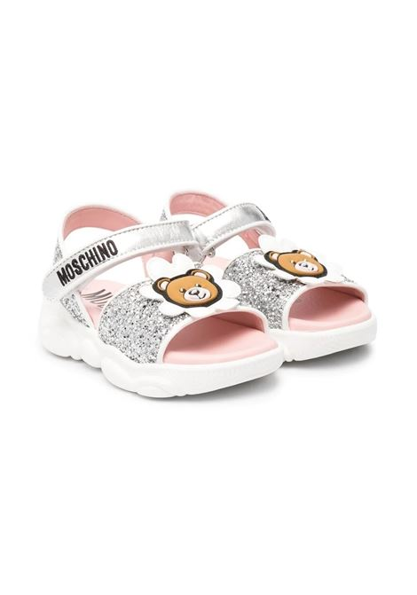 SANDALS WITH APPLICATIONS MOSCHINO KIDS | Sandals | 674582