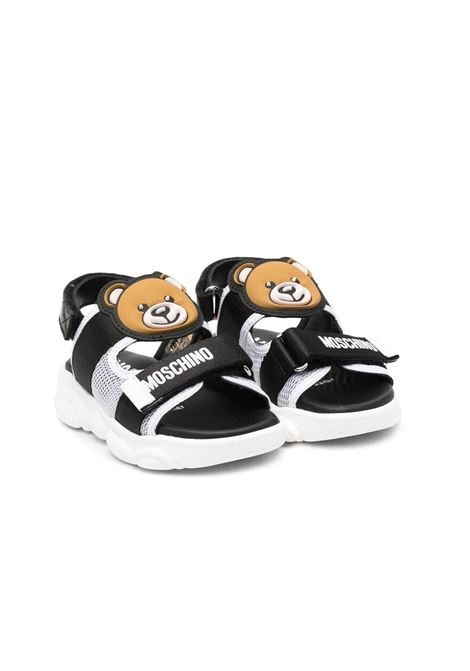 SANDALS WITH LOGO MOSCHINO KIDS | Sandals | 674851