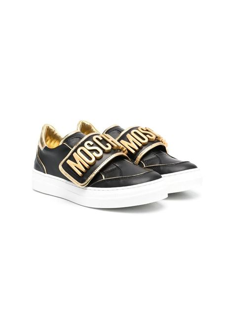 SNEAKERS WITH APPLICATION MOSCHINO KIDS | Sneakers | 67499T1