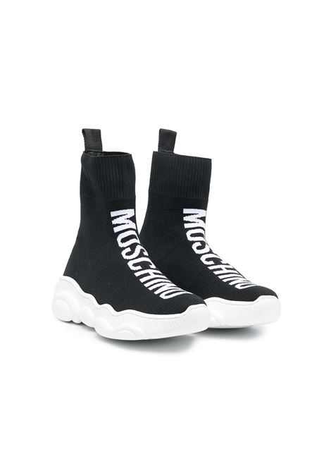 Sneakers with print MOSCHINO KIDS | 675181
