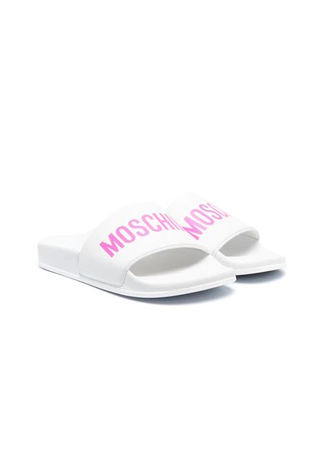SLIPPERS WITH MOSCHINO PRINT MOSCHINO KIDS | Slippers | 67526T10