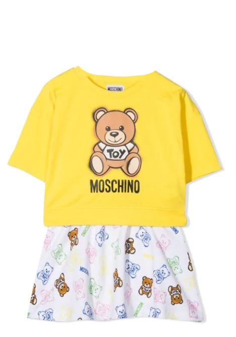 COMPLETE SKIRT AND T-SHIRT MOSCHINO KIDS | Suits | HDG004 LDB4850162