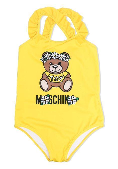 ONE PIECE SWIMSUIT WITH PRINT MOSCHINO KIDS | Swimsuits | HDL00G LKA0050162
