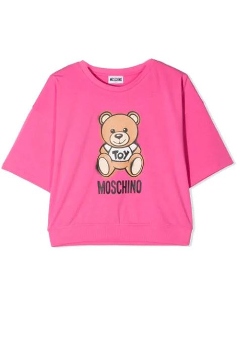 T-SHIRT WITH TEDDY BEAR PRINT  MOSCHINO KIDS | T-shirt | HDM03X LBA1850533