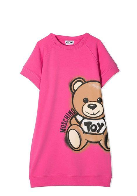 SWEATSHIRT MODEL DRESS MOSCHINO KIDS | Dress | HDV09Y LDA13T50533