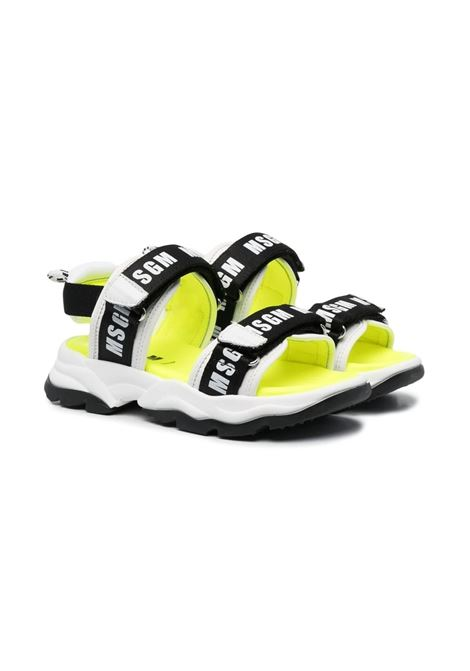 SANDALS WITH PRINT MSGM KIDS | Sandals | 672711