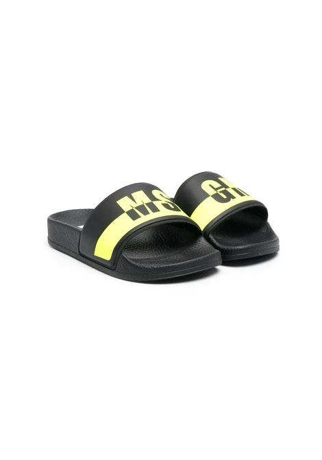 SLIPPERS WITH PRINT MSGM KIDS | Slippers | 673031
