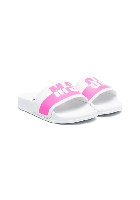 SLIPPERS WITH PRINT MSGM KIDS | Slippers | 673032