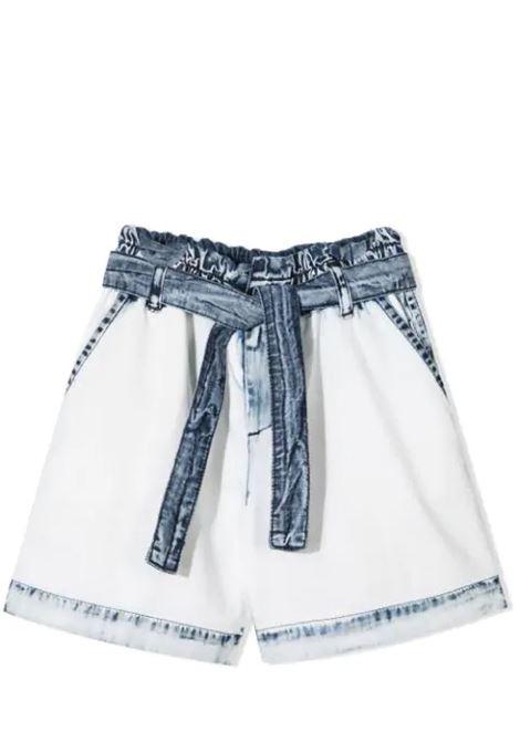 SHORTS DENIM CON CINUTRA MSGM KIDS | Shorts | MS026807T125