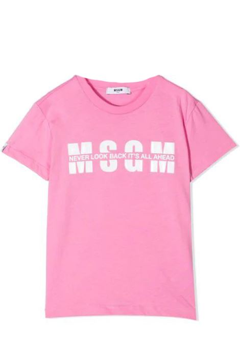PRINT T-SHIRT  MSGM KIDS | T-shirt | MS026817042