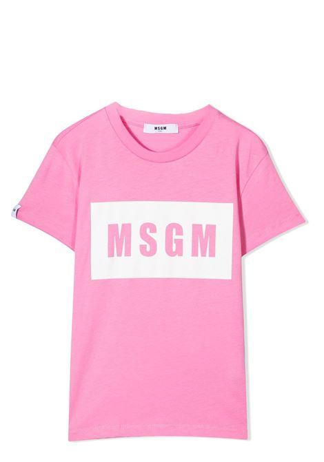 PRINT T-SHIRT MSGM KIDS | T-shirt | MS026829042