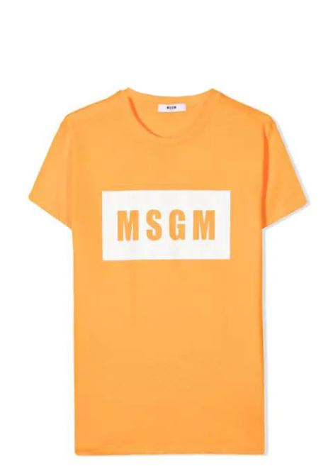 T-SHIRT CON STAMPA MSGM KIDS | T-shirt | MS026829T058