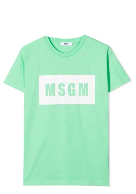 T-SHIRT CON STAMPA MSGM KIDS | T-shirt | MS026829T087