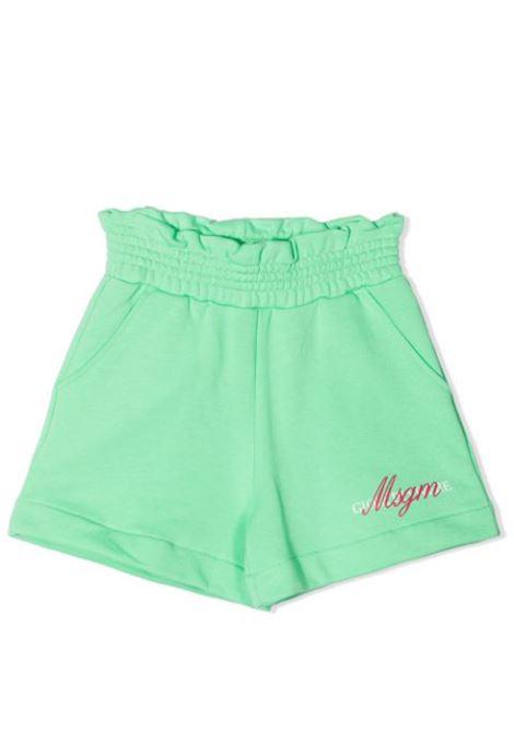 SHORTS IN FELPA MSGM KIDS | Shorts | MS026835T087
