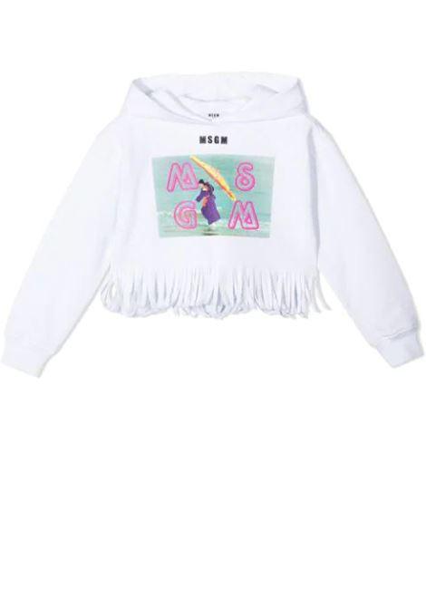 LOGO PRINT SWEATSHIRT MSGM KIDS | Sweatshirts | MS026891001