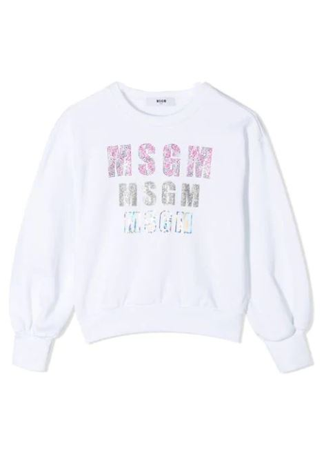 LOGO SWEATSHIRT MSGM KIDS | Sweatshirts | MS026898T001