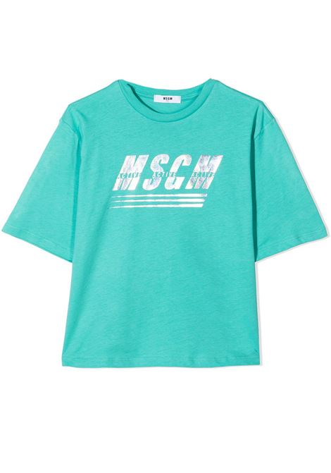 T-SHIRT CON STAMPA MSGM KIDS | T-shirt | MS027072T114