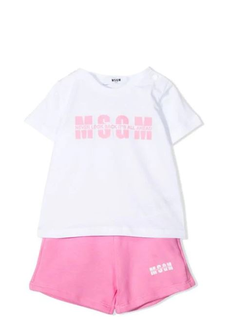 TWO-PIECE SET WITH PRINT MSGM KIDS | Suits | MS027269001/18