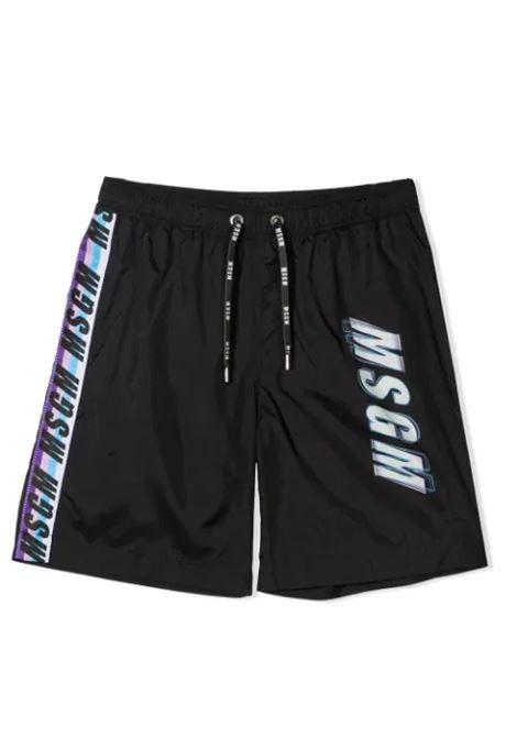 PRINT SHORT SWIMSUIT MSGM KIDS | Swimsuits | MS027662110