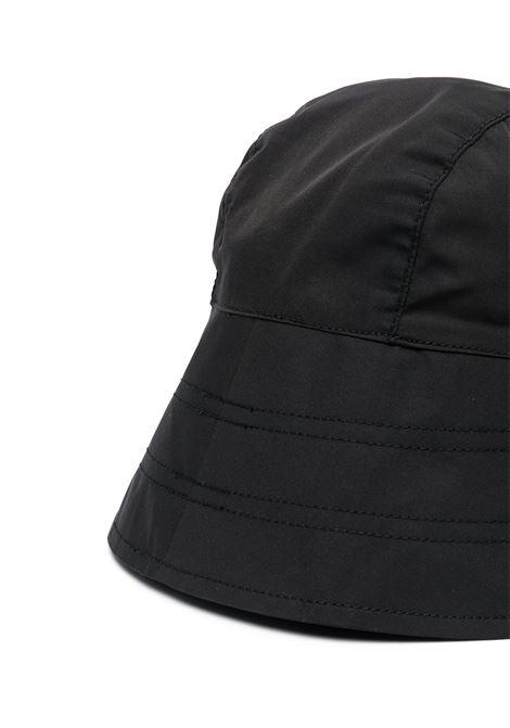 BUCKET HAT WITH APPLICATION N°21 KIDS | N21F12U-N21113-N01500N900