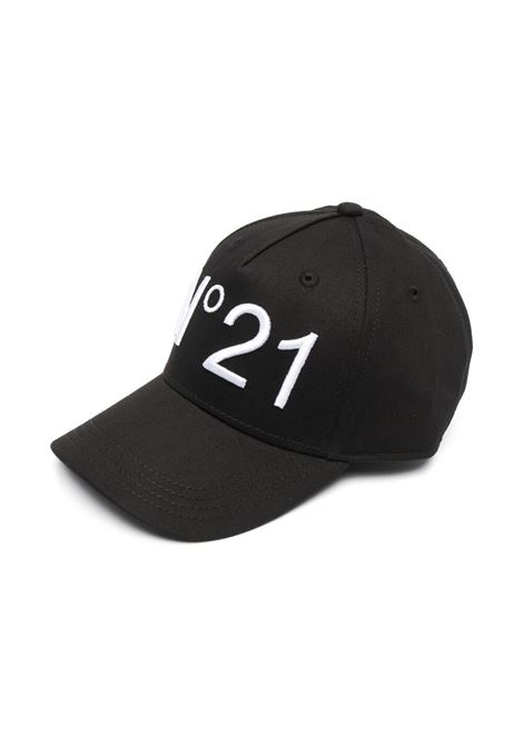 HAT WITH EMBROIDERY N°21 KIDS | Hats | N21F1U-N2143F-N00410N900