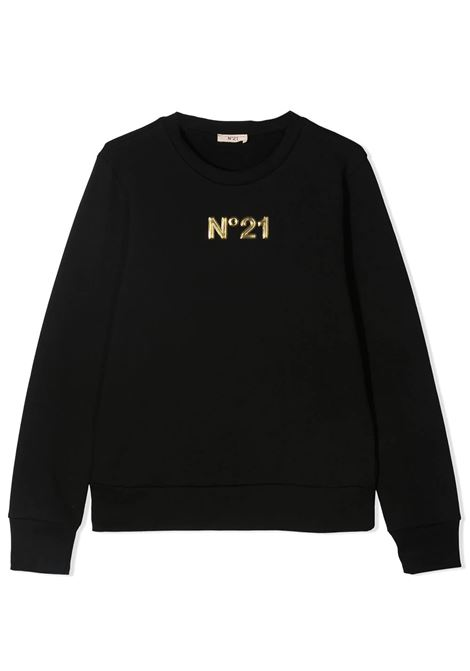 LOGO PATCH SWEATSHIRT N°21 KIDS | Sweatshirts | N21S71F-N21077-N01540N900